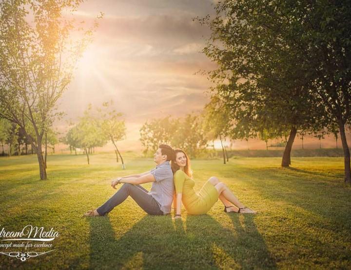 Alex & Romina, o sedinta foto in Timisoara