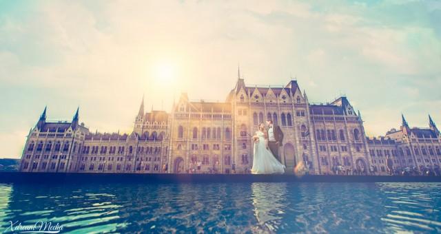 Love story in Budapesta.